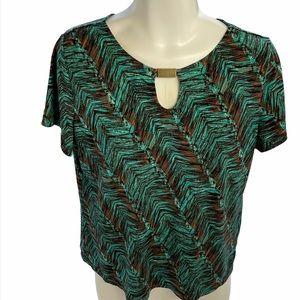Allison Daley Petite printed blouse!